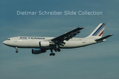 1997-05 F-BVGB Airbus A300B2-101 (c/n 006) Air France