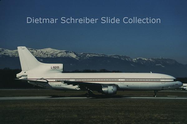 1997-02-08 G-CEAP Lockheed L1011 Tristar