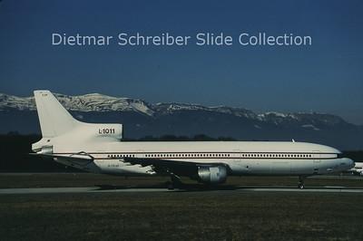 1997-02-08 G-CEAP Lockheed L1011-50 Tristar (c/n 1145)