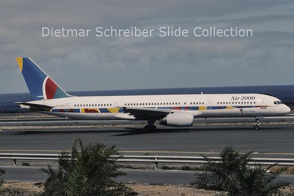 1996-04 G-OOOJ Boeing 757-200 Air 2000