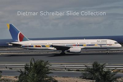 1996-04 G-OOOJ Boeing 757-23A (c/n 24290) Air 2000