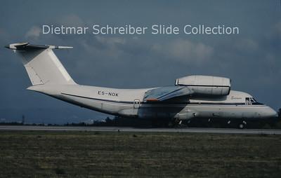 1997-05-17 ES-NOK Antonov 72-100 (c/n 36572080780) Enimex