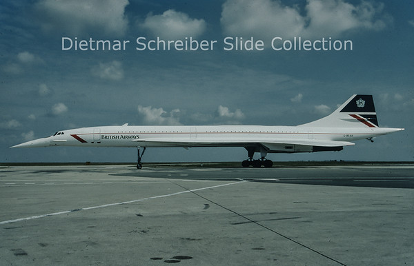 1996-05 G-BOAA Concorde British Airways