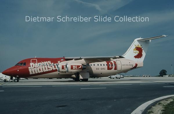1997-05 SE-DRC Bae 146-200 (c/n E.2053) Malmoe Aviation