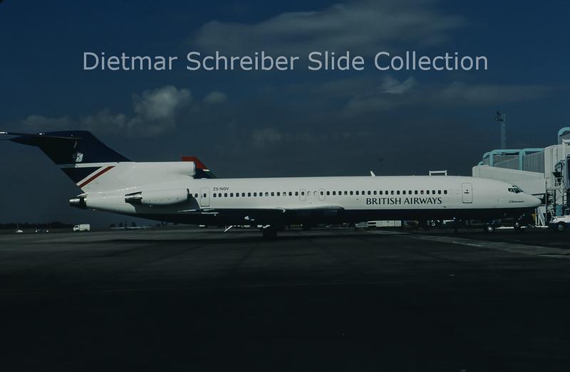 1997-05 ZS-NOV Boeing 727-200 Comair