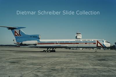 1997-01-12 RA-85508 Tupolev 154B2 (c/n 508) Ural Airlines
