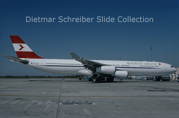 F-WWJC Airbus A340-300 Austrian Airlines