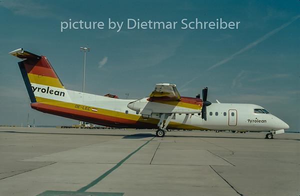 1997-07 OE-LEC Dash DHC8-300 Tyrolean Airways