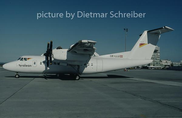 1997-09 OE-LLU Dash DHC7 Tyrolean Airways