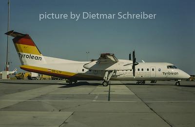 1997-09 OE-LTF Dash DHC8-300 Tyrolean Airways