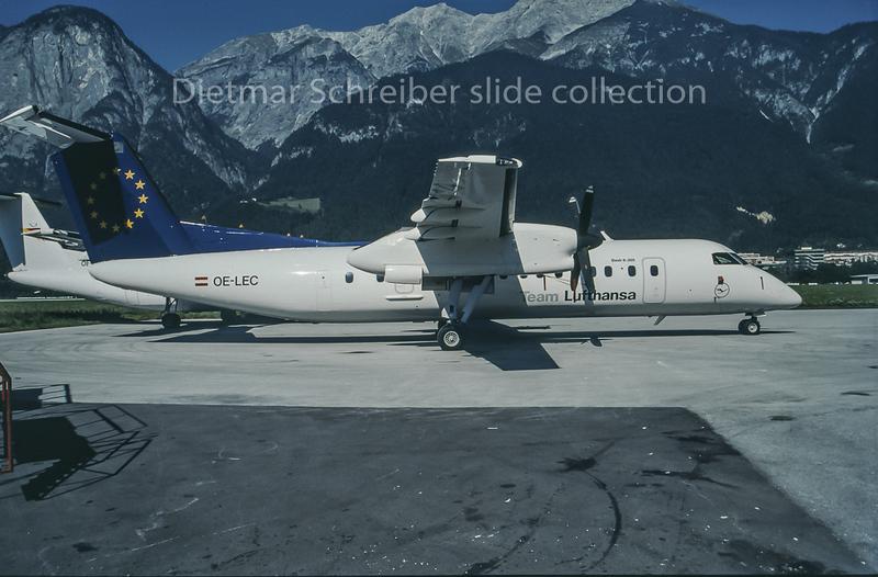 1997-10 OE-LEC Dash DHC8-300 Augsburg Airways