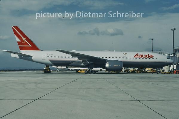 1997-10 OE-LPA Boeing 777-200 Lauda Air
