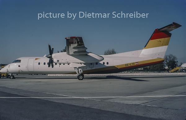 1997-11 OE-LTE Dash DHC8-300 Tyrolean Airways