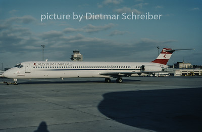 1997-11 OE-LDR MDD MD80 Austrian Airlines