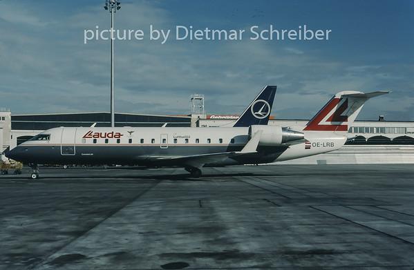 1998-02 OE-LRB Canadair Regionaljet 200 Lauda Air