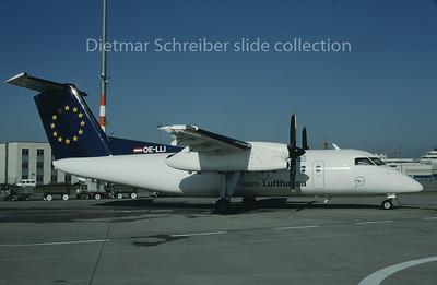 1997-10 OE-LLI Dash DHC8-100 Augsburg Airways