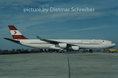 1998-02 OE-LAK Airbus A340-300 Austrian Airlines