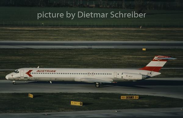 1998-04 OE-LDT MDD MD80 Austrian Airlines