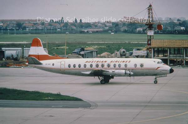 OE-IAM Vickers Viscount Austrian Air Transport