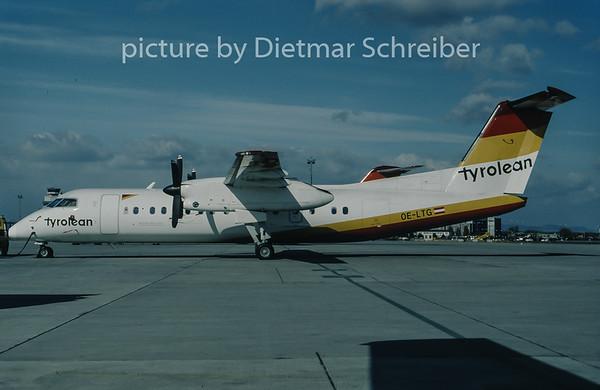 1998-03 OE-LTG Dash DHC8-300 Tyrolean Airways