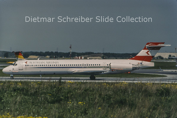 1998-05 OE-LMO MDD MD87 (c/n 49888) Austrian Airlines