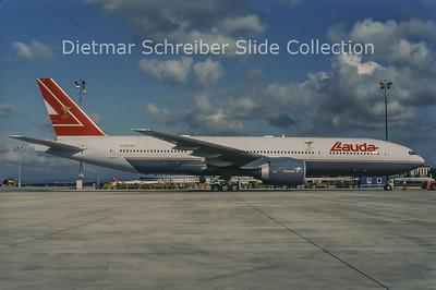 1998-07 OE-LPA Boeing 777-200 Lauda Air