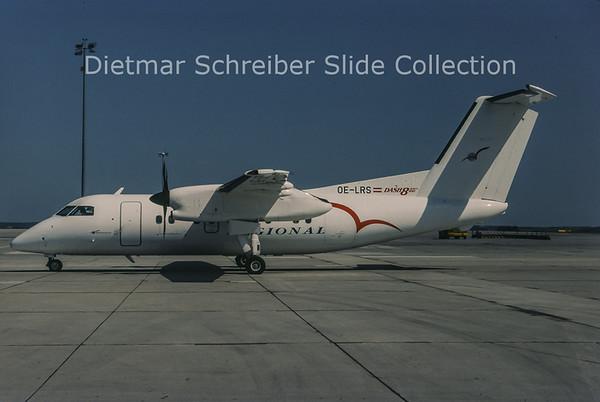 1998-06 OE-LRS Bombardier Dash 8-102 (c/n 175) Regional Airlines