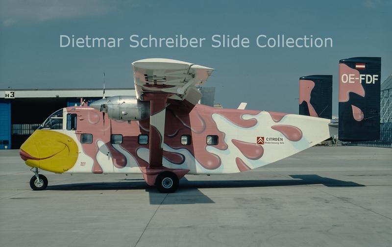 OE-FDF Shorts SC7 Skyvan (c/n SH.1958) Pink Aviation Service