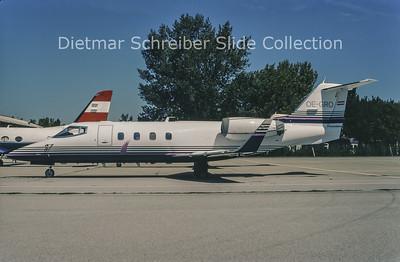 1998-08 OE-GRO Learjet 55 (c/n 55-122) Grossmann Air Service