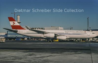 2004-02 OE-LAH Airbus A340-212 (c/n 81) Austrian Airlines