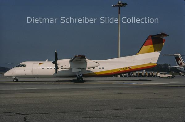 1997-10 OE-LTE Bombardier Dash 8-311A (c/n 422) Tyrolean Airways