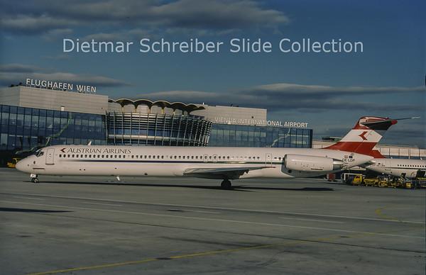1998-09 OE-LDP MDD MD81 (c/n 48015) Austrian Airlines
