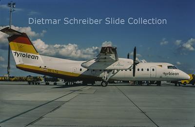 1998-09 OE-LTG Bombardier Dash 8-314Q (c/n 438) Tyrolean Airways