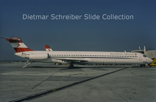 1998-10 OE-LDX MDD MD81 (c/n 48021) Austrian Airlines