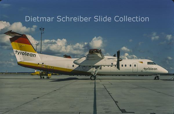 1998-09 OE-LTJ Bombardier Dash 8-311 (c/n 481) Tyrolean Airways