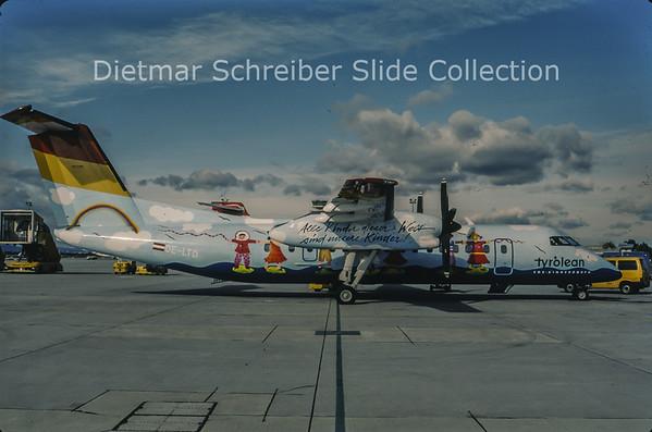 1998-11 OE-LTD Bombardier Dash 8-311 (c/n 400) Tyrolean Airways