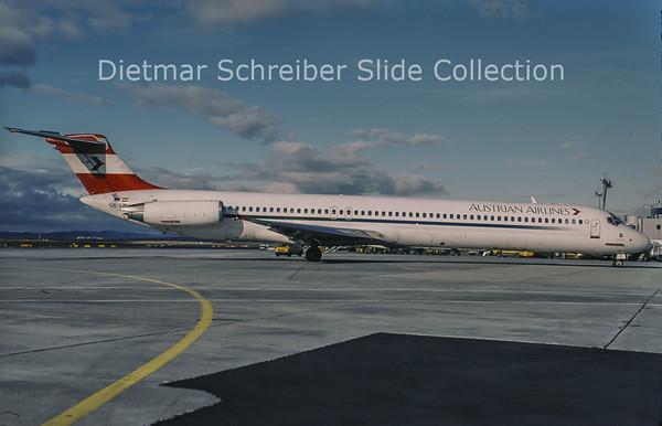 2003-02 OE-LMC MDD MD81 (c/n 49372) Austrian Airlines