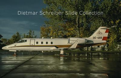 1998-11 OE-GRR Learjet 55 Rogner International
