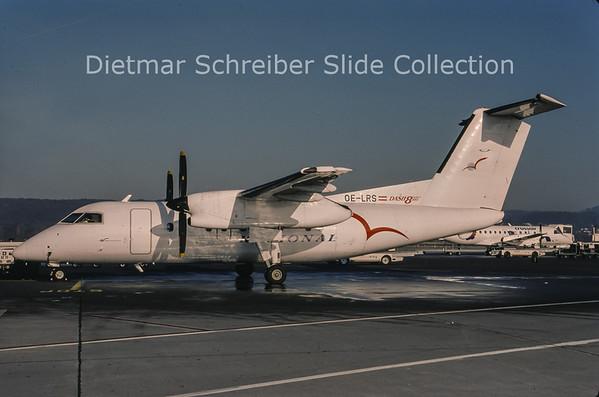 1999-01 OE-LRS Bombardier Dash 8-102 (c/n 175) Regional Airlines