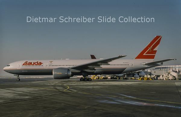 1998-12 OE-LPB Boeing 777-2Z9ER (c/n 28699) Lauda Air