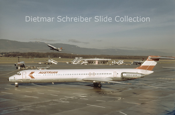 1983-12-24 OE-LDU MDD MD81 (c/n 48019) Austrian Airlines