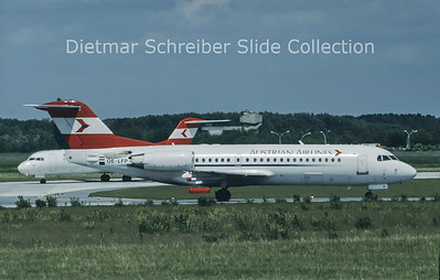 OE-LFP Fokker F28-0070 (Fokker 70) (c/n 11560) Austrian Airlines