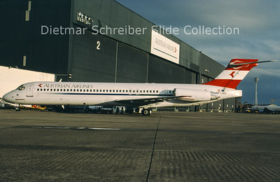 OE-LMO MDD MD87 (c/n 49888) Austrian Airlines