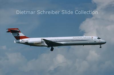 OE-LMN MDD MD87 (c/n 49414) Austrian Airlines