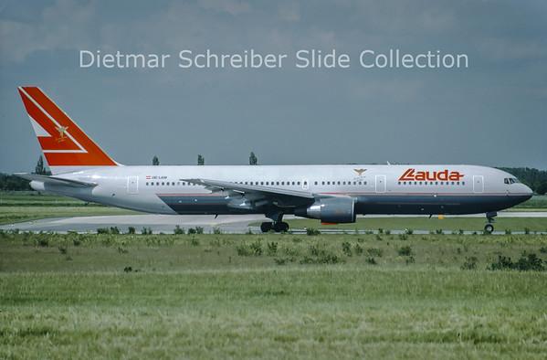 OE-LAW Boeing 767-3Z9ER (c/n 26417) Lauda Air