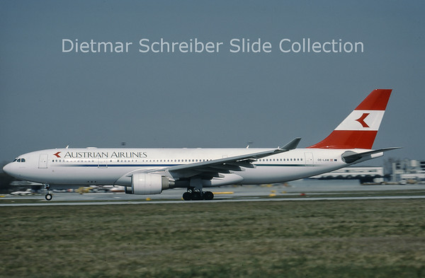 OE-LAM Airbus A330-223 (c/n 223) Austrian Airlines