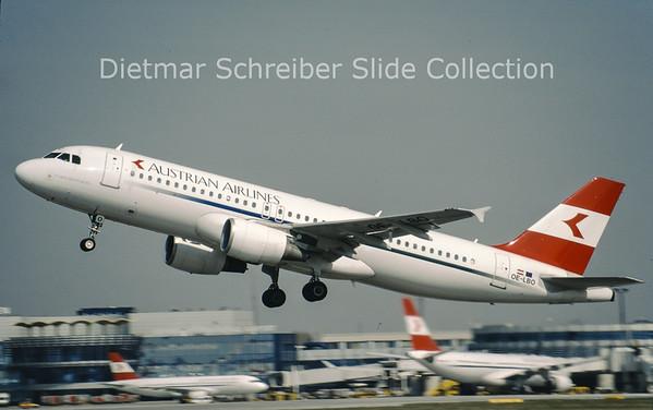 OE-LBO Airbus A320-214 (c/n 776) Austrian Airlines