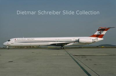 OE-LMB MDD MD81 (c/n 49279) Austrian Airlines