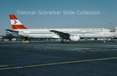 OE-LBE Airbus A321-211 (c/n 935) Austrian Airlines