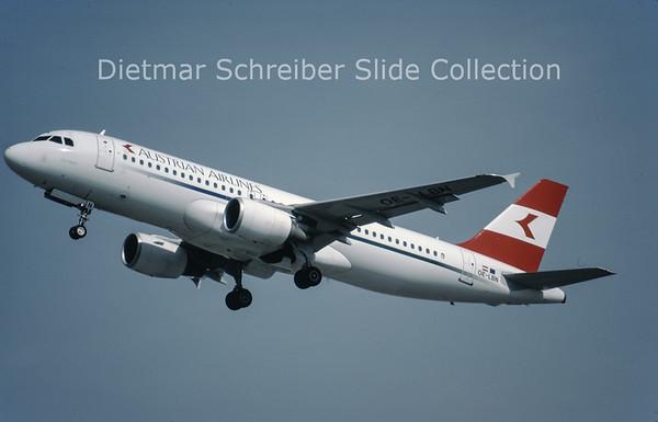 OE-LBN Airbus A320-214 (c/n 768) Austrian Airlines